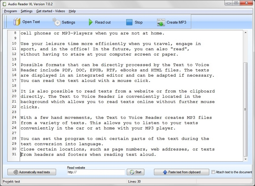 Text to Speech Software for PC